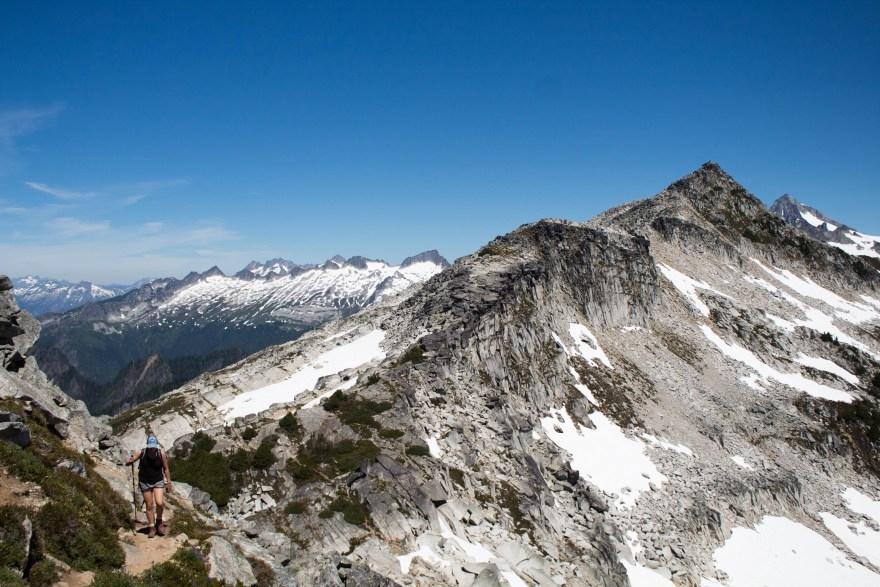 Hiker // North Cascades NP, Washington